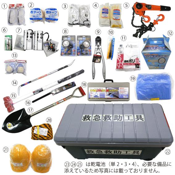 地震,災害用,救急工具,レスキュー,防災,セット,救急救助,人命救助,家庭,オフィス,救助,工具セット,